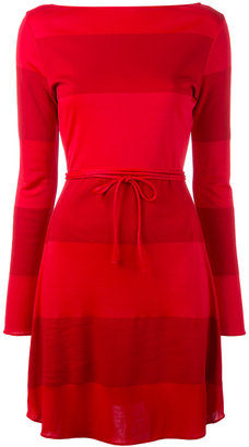 Tommy Hilfiger panel string tie dress $226.22 thestylecure.com