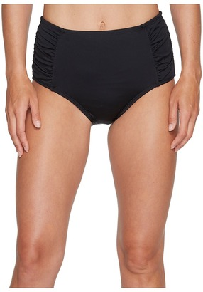 Jantzen - Solid High Waisted Bottom Women's Swimwear $58 thestylecure.com