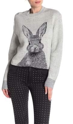 Paul & Joe Sister Lapin Crew Neck Bunny Sweater