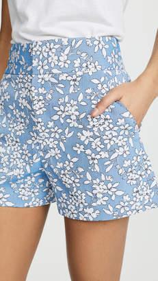 Alice + Olivia Cady High Waist Clean Shorts