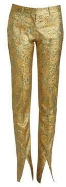 Victoria Beckham Front Split Skinny Trousers