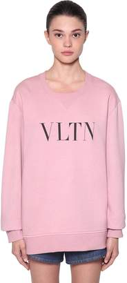 Valentino (ヴァレンティノ) - VALENTINO コットンブレンドスウェットシャツ