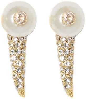 Vince Camuto Horn Drop-back Earrings