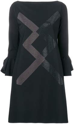 Chiara Boni Le Petite Robe Di zigzag print dress