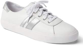 Gap Leather Lace-Up Sneakers