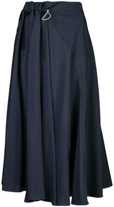 Roksanda paperbag waist midi skirt