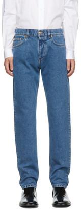 Versace Blue Slim-Fit Jeans
