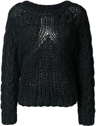 MM6 MAISON MARGIELA thick knit jumper