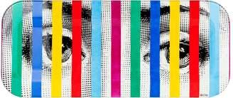 Fornasetti Tema e Variazoni Face and Stripes Tray (25cm x 60cm)