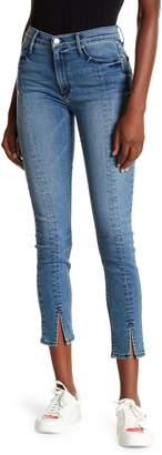 Black Orchid Kendall Front Slit Skinny Jeans