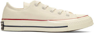 Converse Off-White Chuck Taylor All-Star 70 Low-Top Sneakers