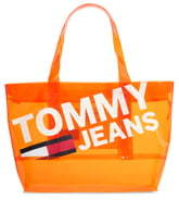 Tommy Jeans Transparent Logo Tote