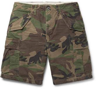 Polo Ralph Lauren Camouflage-Print Cotton Cargo Shorts