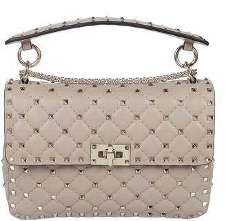 Valentino Rockstud Quilted Shoulder Bag