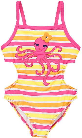 Octopus Cut-Out One-Piece Swimsuit