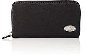 Fendi Women's Selleria Leather Zip-Around Wallet - Black