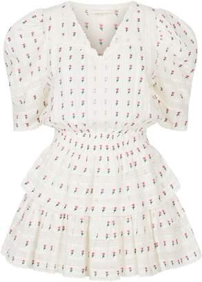 LoveShackFancy Love Shack Fancy Marissa Tiered Mini Dress