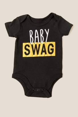 Rashiti Baby Swag Bodysuit - Black