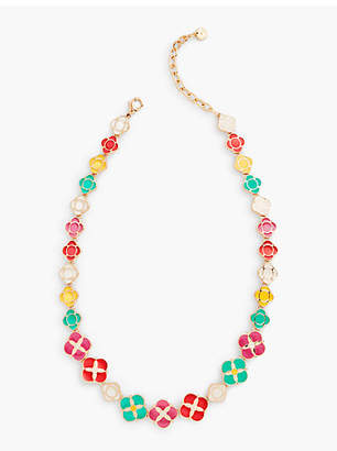 Talbots Geometric Statement Necklace