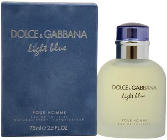 Dolce & Gabbana Men's Light Blue 2.5Oz Eau De Toilette Spray