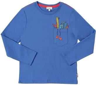 Paul Smith Pens Print Cotton Jersey T-Shirt