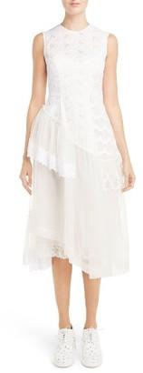 Women's Simone Rocha Frill Patchwork Dress $3,935 thestylecure.com