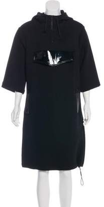 Christopher Kane Hooded Midi Dress