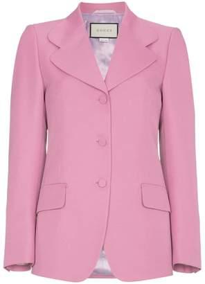 Gucci Pink Suit Blazer