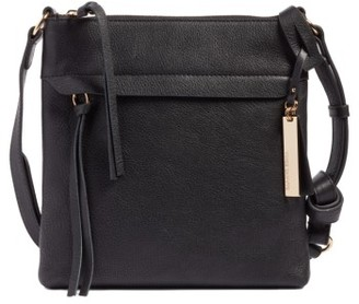 Vince Camuto Felax Leather Crossbody Bag - Black $228 thestylecure.com