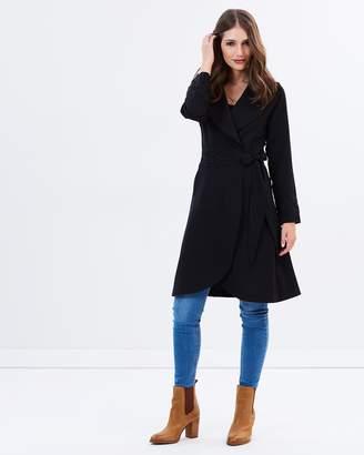 Wrap Coat Dress