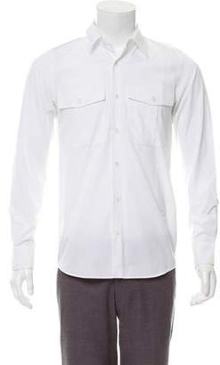 Dries Van Noten Woven Button-Up Shirt w/ Tags