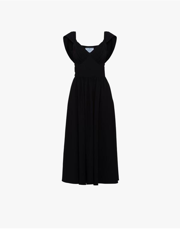 Prada Prada Sablé Dress