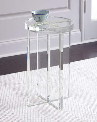 John-Richard Collection Duke Crystal Side Table