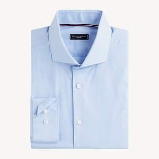 Wide-Spread Collar Slim Fit Shirt
