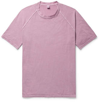 Aspesi Slim-Fit Washed Cotton-Jersey T-Shirt