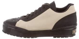 Chanel Platform Low-Top Sneakers