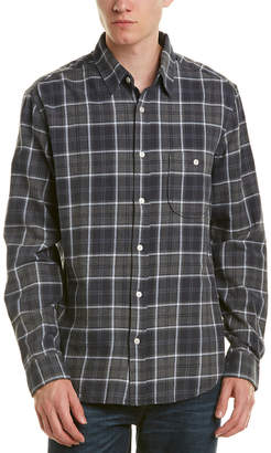 7 For All Mankind Seven 7 Brushed Plaid Shirt