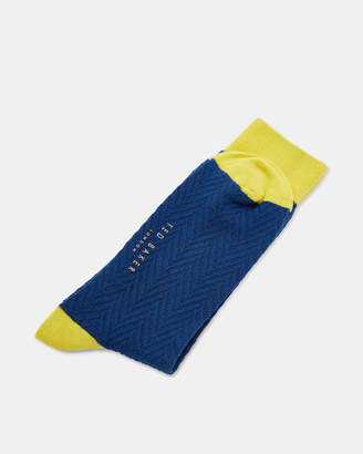 Ted Baker DONI Colour block cotton socks