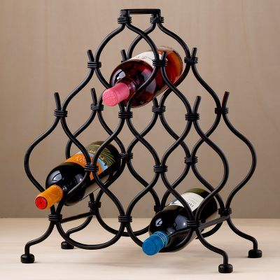 Moorish 8-Bottle Wine Rack