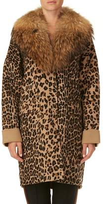 P.A.R.O.S.H. Wool Blend Lopar Coat