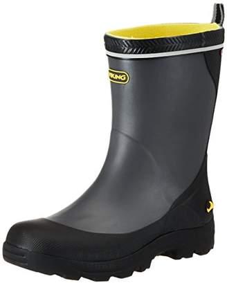 Viking Unisex - Child Storm Jr. Rubber Boots Gray Grau (9150) Size: (11.5 Kinder UK)