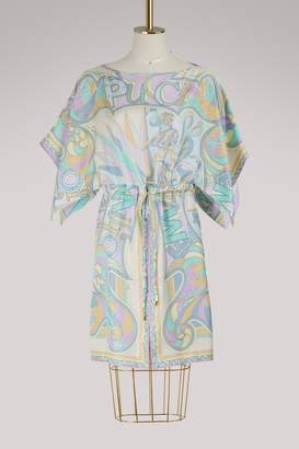 Emilio Pucci Miami printed silk dress