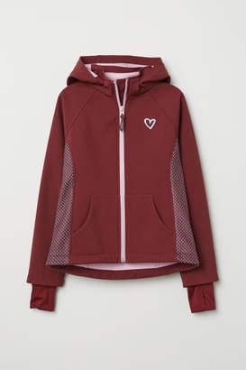 H&M Hooded softshell jacket