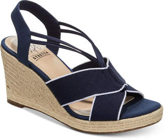 Impo Tegan Espadrille Platform Wedge Sandals Women's Shoes