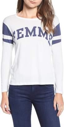 Pam & Gela Shrunken Football Shirt