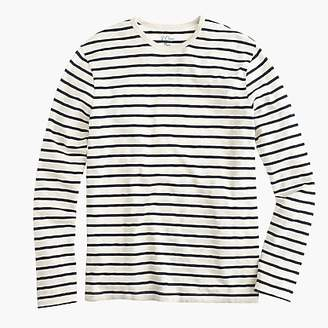 cea8732dc09 ... J.Crew Men s Tall Deck-Striped T-Shirt - Men s Knits