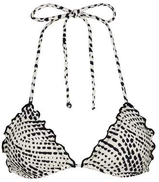 Vix 'Pearl Black Ripple' bikini top