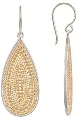 Anna Beck Two-Tone Long Drop Earrings