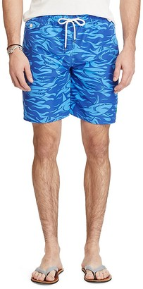 Polo Ralph Lauren Traveler Shark Swim Trunks $75 thestylecure.com