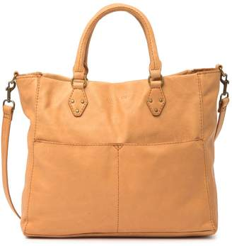 Baggu American Leather Co. Kelly Convertible Leather Tote